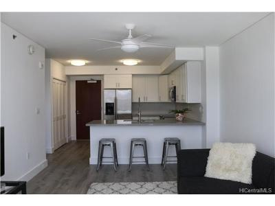 Honolulu HI Condo/Townhouse In Escrow Showing: $599,000