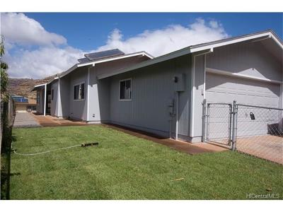 Waianae Single Family Home For Sale: 86-150 Leihoku Street