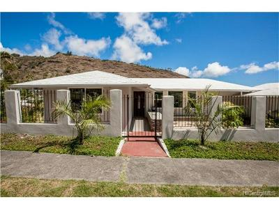 Honolulu County Single Family Home For Sale: 673 Hao Street