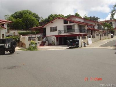 Single Family Home For Sale: 4510 Luapele Place