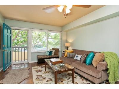 Honolulu HI Condo/Townhouse In Escrow Showing: $399,500