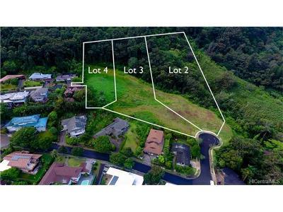 Central Oahu, Diamond Head, Ewa Plain, Hawaii Kai, Honolulu County, Kailua, Kaneohe, Leeward Coast, Makakilo, Metro Oahu, N. Kona, North Shore, Pearl City, Waipahu Residential Lots & Land For Sale: Lot 3 Puu Paka Drive