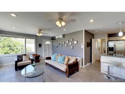 Honolulu County Single Family Home For Sale: 953 Kului Place