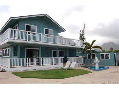 Kaaawa Single Family Home For Sale: 51-148 Kamehameha Highway
