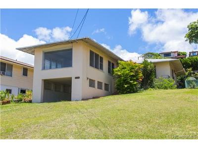 Honolulu Single Family Home For Sale: 3012 Herman Street