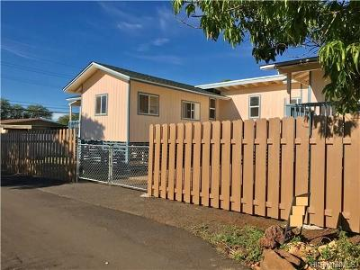 Waianae Single Family Home For Sale: 87-1423 Akowai Road