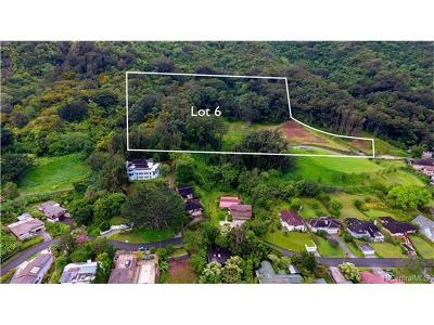 Honolulu Residential Lots & Land For Sale: Lot 6 Kamaaina Drive