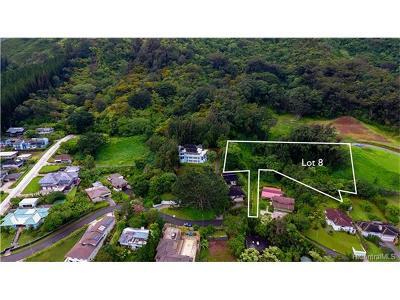 Central Oahu, Diamond Head, Ewa Plain, Hawaii Kai, Honolulu County, Kailua, Kaneohe, Leeward Coast, Makakilo, Metro Oahu, N. Kona, North Shore, Pearl City, Waipahu Residential Lots & Land For Sale: Lot 8 Kamaaina Drive