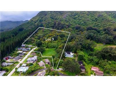 Central Oahu, Diamond Head, Ewa Plain, Hawaii Kai, Honolulu County, Kailua, Kaneohe, Leeward Coast, Makakilo, Metro Oahu, N. Kona, North Shore, Pearl City, Waipahu Residential Lots & Land For Sale: Lot 9 Ragsdale Place