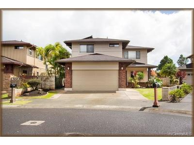 Mililani Single Family Home For Sale: 95-1011 Hoama Street
