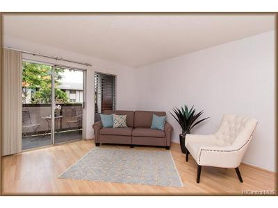 Pearl City Condo/Townhouse In Escrow Showing: 96-224 Waiawa Road #55