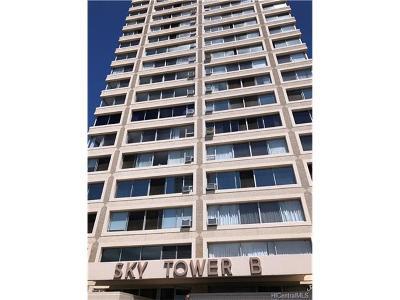 Condo/Townhouse For Sale: 1060 Kamehameha Highway #1604B