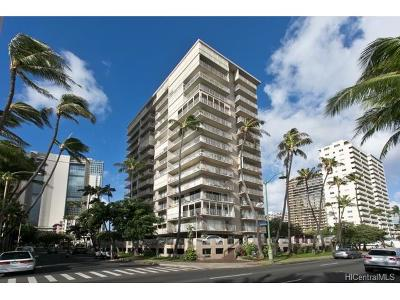 Honolulu Condo/Townhouse For Sale: 2115 Ala Wai Boulevard #603