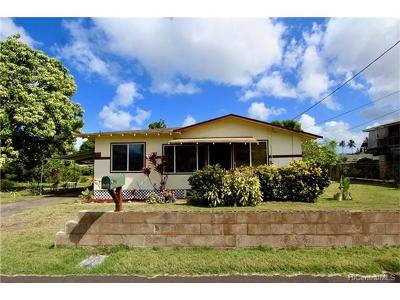 Haleiwa Single Family Home For Sale: 66-124 Keahipaka Lane