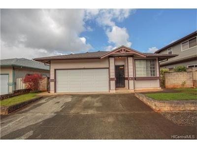 Mililani Single Family Home In Escrow Showing: 95-250 Hoailona Place