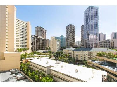 Honolulu County Condo/Townhouse For Sale: 425 Ena Road #801C