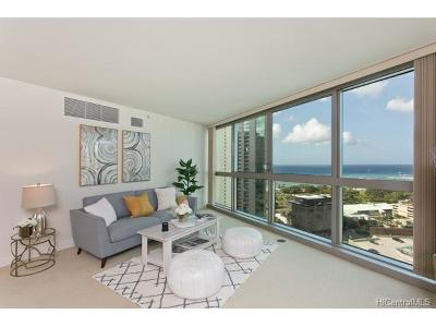 Honolulu Condo/Townhouse For Sale: 1177 Queen Street #2403