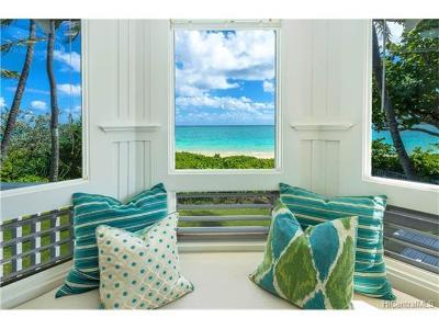 Kailua Single Family Home For Sale: 1048 Mokulua Drive