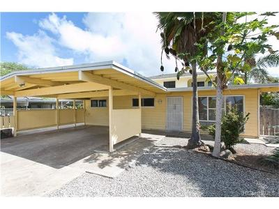 Waianae Single Family Home For Sale: 87-377 Heleuma Street
