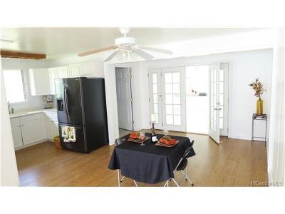 Waipahu Single Family Home In Escrow Showing: 94-870 Awanei Street