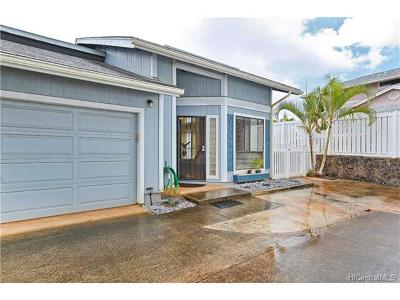 Mililani Single Family Home In Escrow Showing: 95-1010 Paea Street