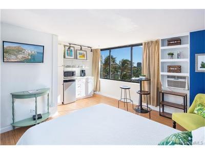 Honolulu Condo/Townhouse For Sale: 444 Niu Street #805