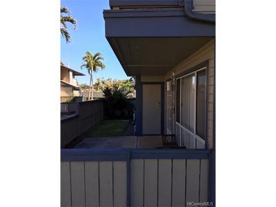 Ewa Beach Condo/Townhouse For Sale: 91-234 Hanapouli Circle #28A