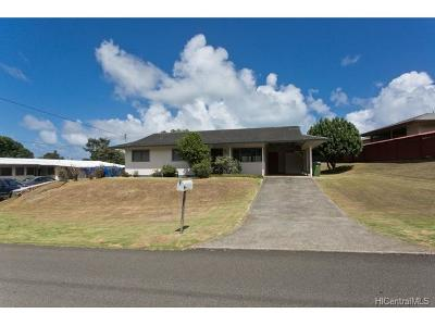 Single Family Home For Sale: 575 Uluoa Street