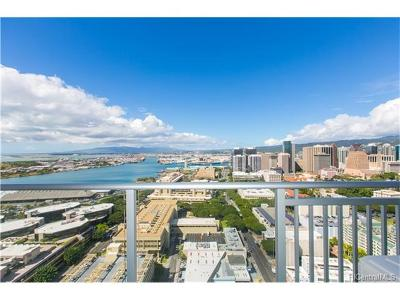 Hawaii County, Honolulu County Condo/Townhouse For Sale: 555 South Street #3409