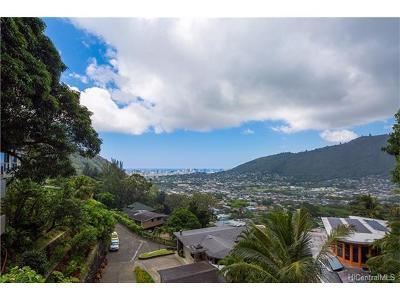 Honolulu Single Family Home For Sale: 3347a Anoai Place