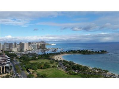 Honolulu Condo/Townhouse For Sale: 1288 Ala Moana Boulevard #16F