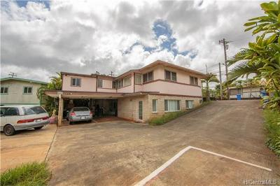 Wahiawa Single Family Home For Sale: 105 Uuku Street