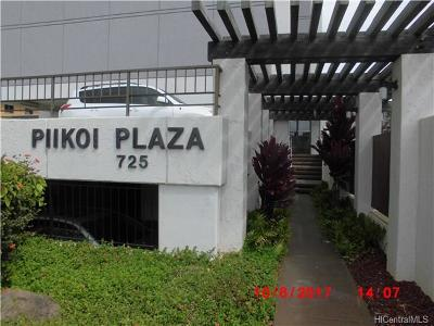 Honolulu Condo/Townhouse For Sale: 725 Piikoi Street #301