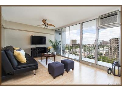 Honolulu Condo/Townhouse For Sale: 757 Kinalau Place #1004