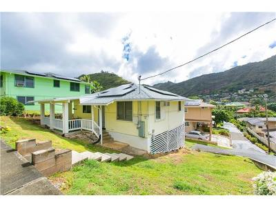 Honolulu Single Family Home For Sale: 2275 Palolo Avenue #2275
