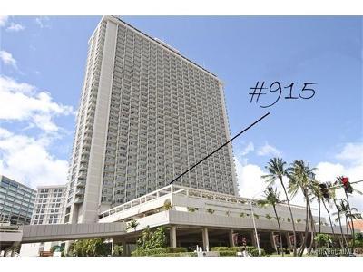 Honolulu County Condo/Townhouse For Sale: 410 Atkinson Drive #915