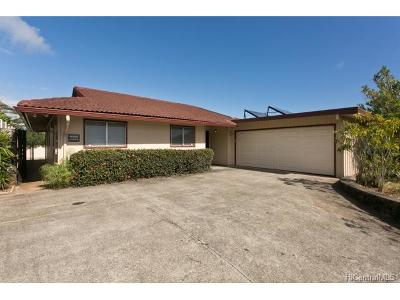 Single Family Home For Sale: 1563 Keolu Drive