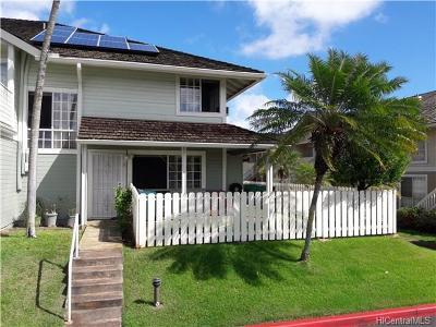 Waipahu Condo/Townhouse For Sale: 94-1505 Waipio Uka Street #B102