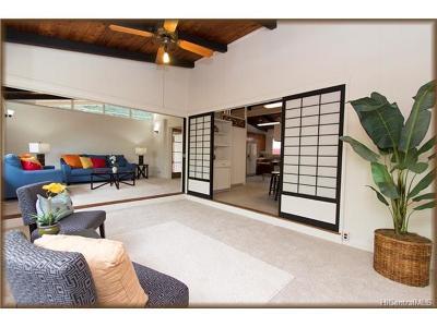 Honolulu Single Family Home For Sale: 3355 Pakanu Street