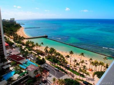 Honolulu Rental For Rent: 2500 Kalakaua Avenue #2204