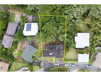 Honolulu Single Family Home For Sale: 3352 Emekona Place