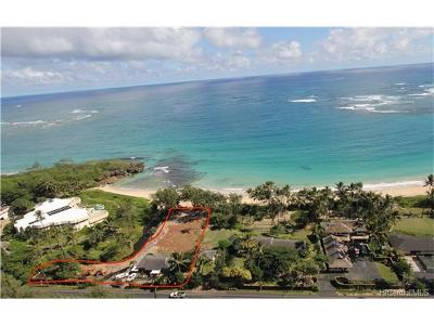 Laie Single Family Home For Sale: 55-137 Kamehameha Highway