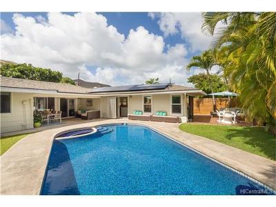 Honolulu County Single Family Home For Sale: 279 Hamakua Drive