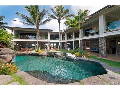 Honolulu County Single Family Home For Sale: 210 N Kalaheo Avenue