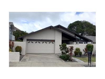 Honolulu HI Single Family Home For Sale: $1,018,000