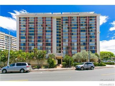 Honolulu Condo/Townhouse For Sale: 1650 Kanunu Street #PH3