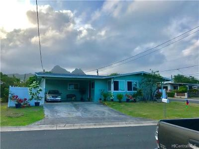 Waimanalo Single Family Home In Escrow Showing: 41-1633 Humuka Loop