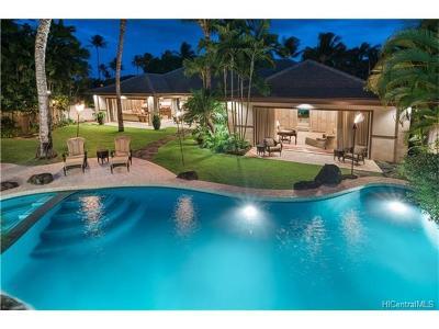 Honolulu HI Single Family Home For Sale: $7,588,000