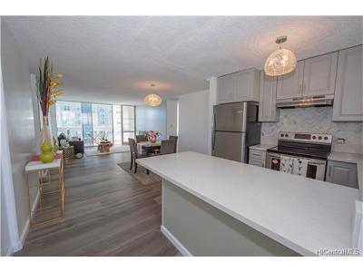 Honolulu HI Condo/Townhouse For Sale: $749,000