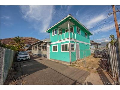 Waianae HI Single Family Home For Sale: $450,000